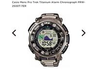 Casio protrek titanium