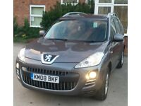 2008 Peugeot 4007 2.2 HDI 4X4 7 SEATER £2995 Crosser Outlander