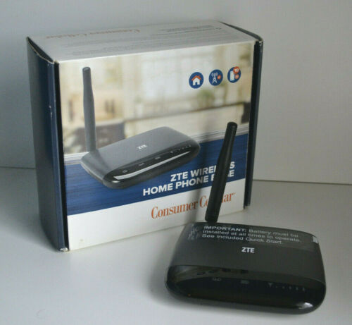 Consumer Cellular ZTE Wireless Home Phone Base - Excellent Condition