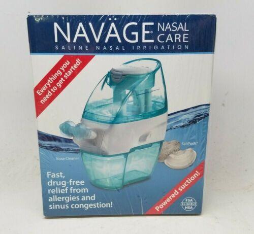 NAVAGE Nasal Care Saline Nasal Irrigation Powered Suction