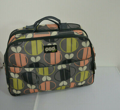 Bizzi Growin Pod Linen Bag TRAVEL COT New Born Baby Changing Bag , used for sale  Shipping to South Africa