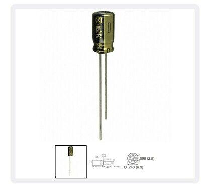 Panasonic Electronic Components Eeu-fc1j330 Lot Of 200 Pieces