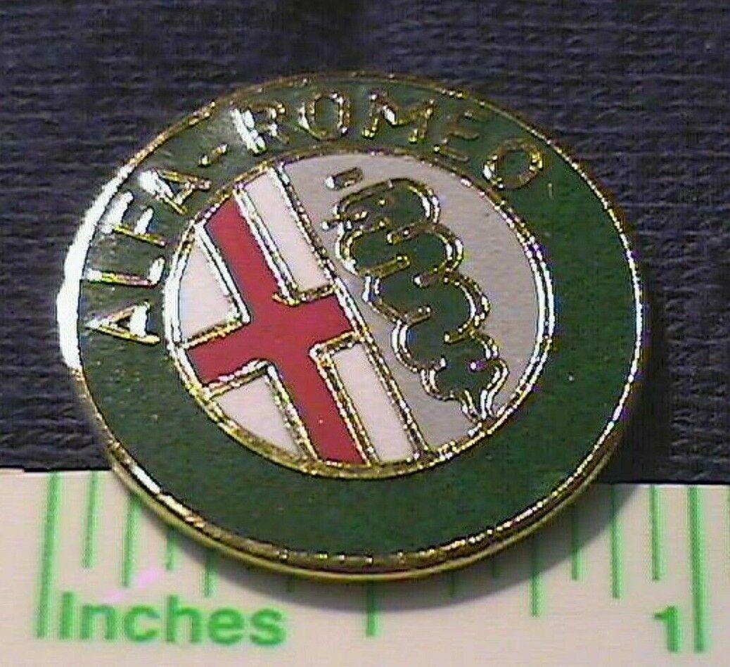 Italian Legendary Sports Car Alfa Romeo Vintage Emblem Logo Cloisonne Lapel Pin Ebay