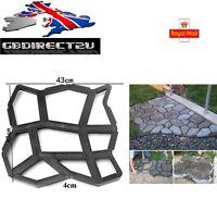 2017 Uk 43cm Heavy Duty Resin Garden Path Making Mould Patio Driveway Paving - unbranded - ebay.co.uk