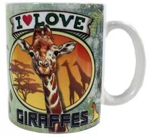 Giraffe Mug | eBay