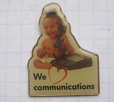 WE COMMUNICATIONS / KOMMUNIKATION    ...........Telefon Pin (128c)