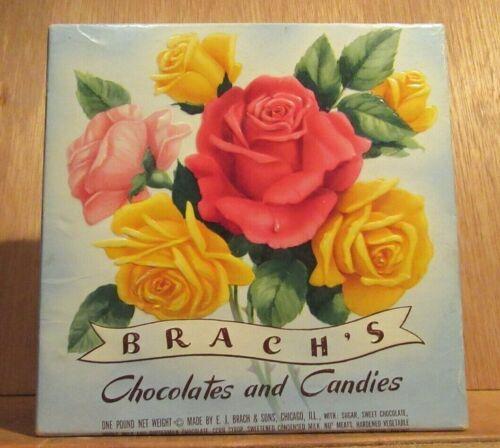 Vintage Brach's Chocolates and Candies Box ~ E.J. Brach & Sons, Chicago, IL