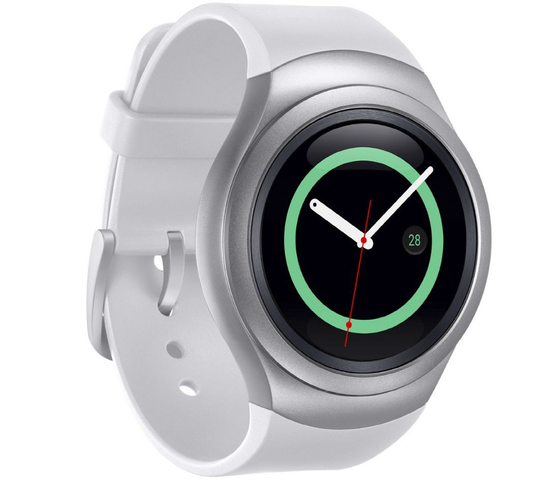Samsung Gear S2 SM-R730A AT&T Unlocked Dark Gray and White S