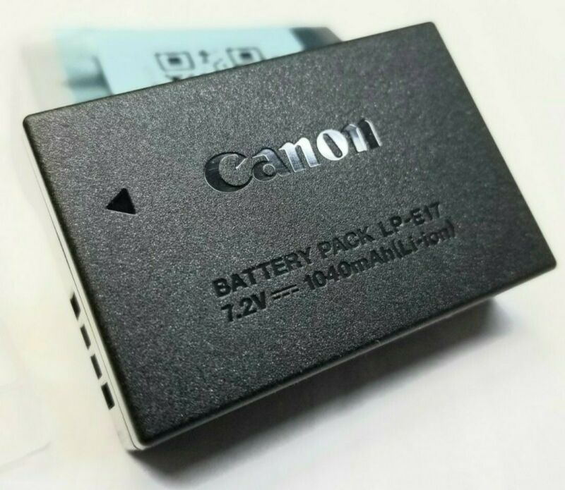 Genuine Canon LP-E17 Battery For EOS Rebel T6s M6 sl2 750D 760D M3 Kiss X8i T6i