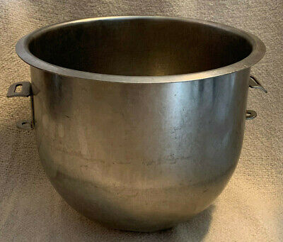 Hobart A200-20 Stainless Steel Mixer Bowl - 20 Qt