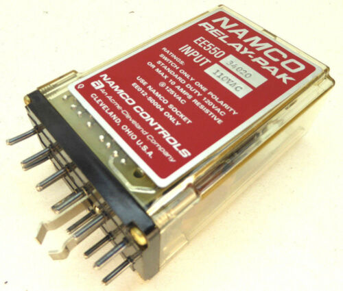 Namco    EE550-34020    Relay-Pak     NEW IN BOX