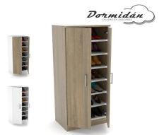 Armario zapatero 2 puertas, 7 estantes, gran capacidad, varios colores