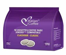 54-Count Senseo-Compatible Italian Coffee Pads - Choose Flavor