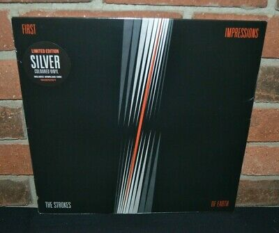THE STROKES - First Impressions Of Earth, Ltd Import SILVER VINYL LP + DL New!