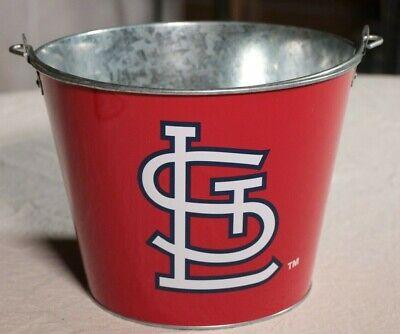 St. Louis Cardinals Beer Bucket Aluminum MLB Baseball Drink