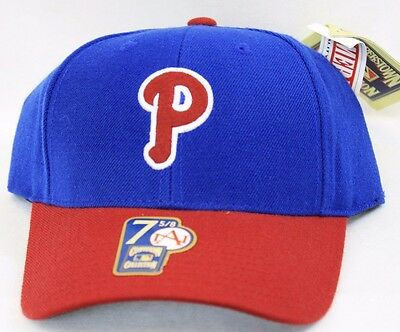 (1948 Phila PHILLIES Baseball Fitted Hat Cap AMERICAN NEEDLE Cooperstown Coll.)