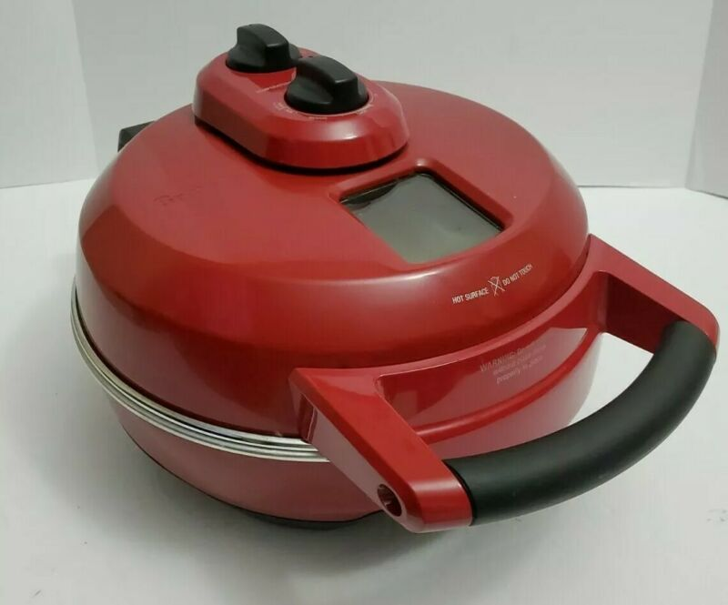🔥🔥 Breville BPZ600 CRNUSC Electric Red Counter Top Pizza Cooking Baking Oven