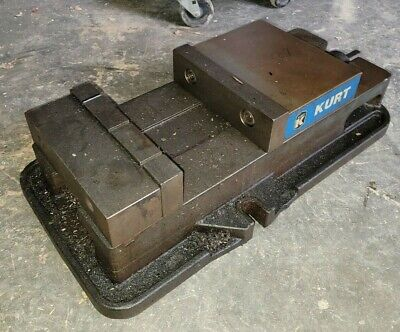 8 Kurt D80 Angle Lock Milling Machine Vise Wjaws - No Handle