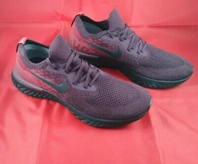 Nike Epic React Flyknit Burgundy UK 9.5