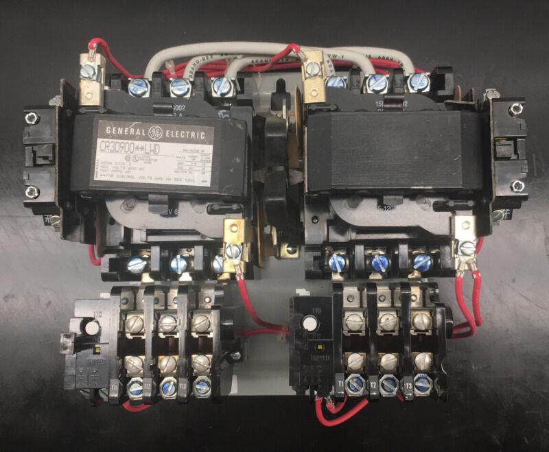 GE CR309D0**LWD MOTOR STARTER NEMA 2 120V COIL