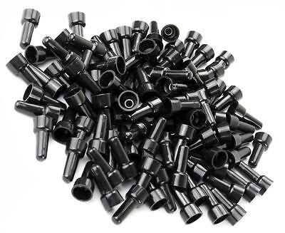 14 Gauge Black Caps (200 PCS PACK PC 16-14 AWG Gauge Black Closed End Crimp Cap CAPS Wire UL)