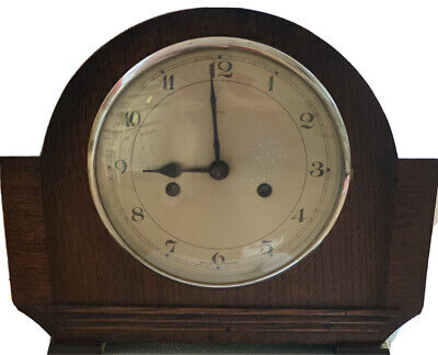 ENFIELD CHIME MANTLE CLOCK, Key, Perfect Working Order, Very Good Overall Condi
