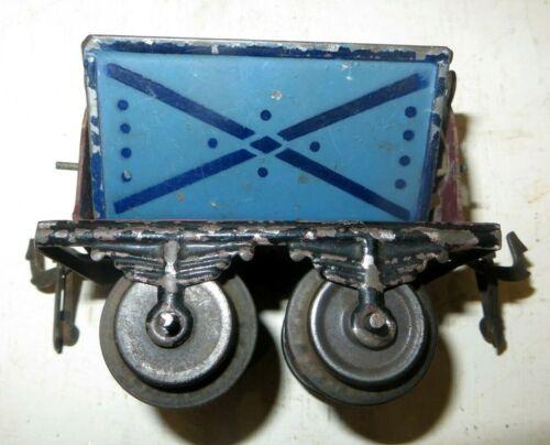 """Rarissime  wagon transport de """"vrac"""" BING, années 1910-20. Jouets, trains, tôles"""