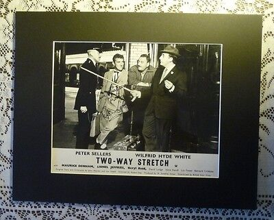 PETER SELLERS PINK PANTHER RARE TWO WAY STRETCH SIGNED 8x10 AUTOGRAPHED COA