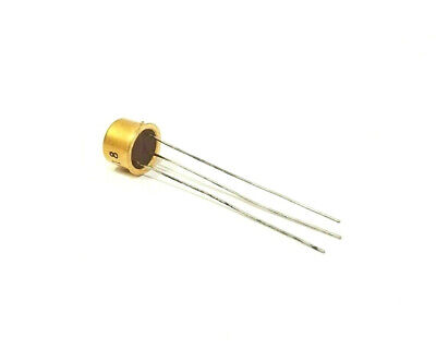 Vintage 2n473 Transistor Gold Leads Nos Free Shipping Within The Us
