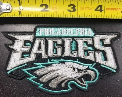 Philadelphia Eagles Nfl Super Bowl Champs 4 5  Iron Sew On Patch Free Shipping