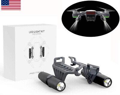 For DJI Spark Drone RC LED Light Kit Adjustable Luminosity Night Flashlight Lamp