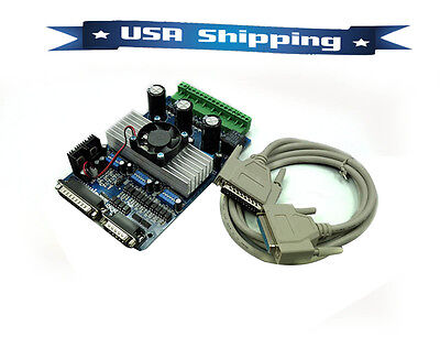 3-Axis CNC 3.5A Router TB6560 Stepper Motor Driver Board Controller USA Shipping