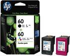 HP 60 HP Printer Ink Cartridges