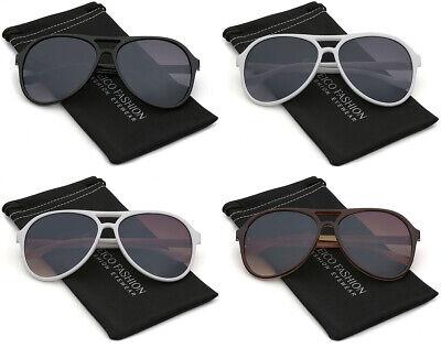 Retro Vintage Key Hole Bridge Women Men Aviator Sunglasses Fashion Pilot (Holes Sunglasses)