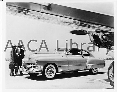 1949 Cadillac Series 62 Club Coupe, Factory Photo / Picture (Ref. #30162)