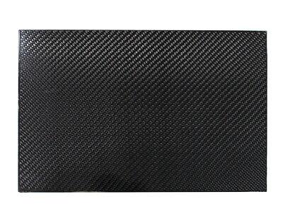 New Carbon Fiber Plate Sheet- (200mm x 300mm x 2 or 3mm) 3K- Weave-High (Carbon Fibre Sheet)
