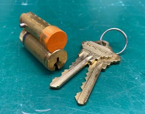 Schlage Orange Construction Core LFIC IC Core - Locksmith Locksport