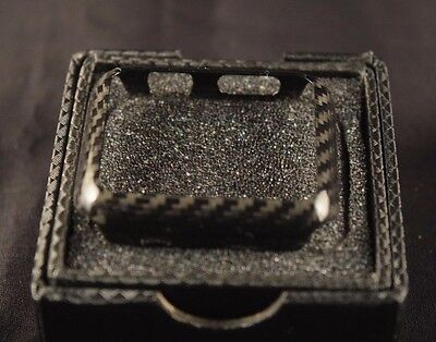 Real 100% Carbon Fiber Case for Apple Watch 42mm Series 2 3 - Gloss Finish - New