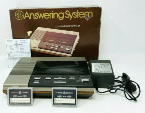GE answering machine 2-9880 Tested & Working Great Condition