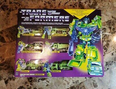 Devastator G1 Constructicon TRANSFORMERS Walmart Exclusive MIB