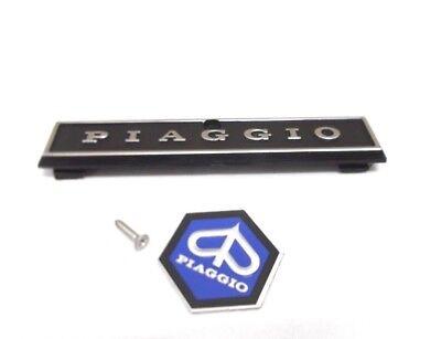 Vespa PX Alt 1. Serie Kaskade Rahmen Piaggio Emblem Set Schriftzug NEU