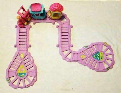 My Little Pony Motorized Friendship Is Magic Train Set Track Cars Engine Ponies