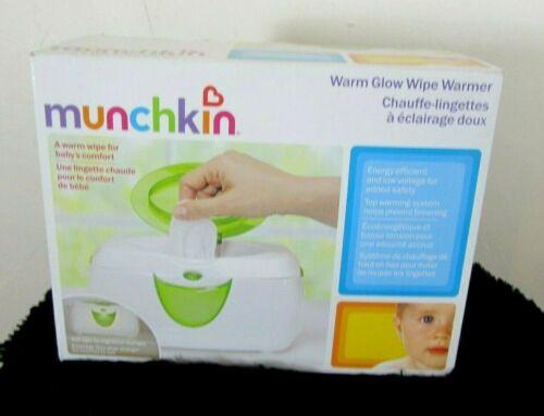 MUNCHKIN Warm Glow Wipe Warmer Soft Glow Light and Warmer in One New Box Sealed