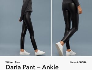 Aritzia  Small Faux Leather Leggings