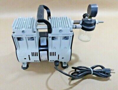 Welch 2561b-50 Laboratory Oil Free 13 Hp Dry Vacuum Pump 115 V 7.1 Cfm