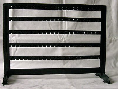 EARRING DISPLAY RACK Holds 60 pairs (Jewelry, necklace, bracelets, stand) #497