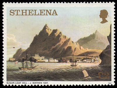 "ST. HELENA 310a (Mi331B) - ""Sugar Loaf Hill"" by J. Wathen (pa83564)"