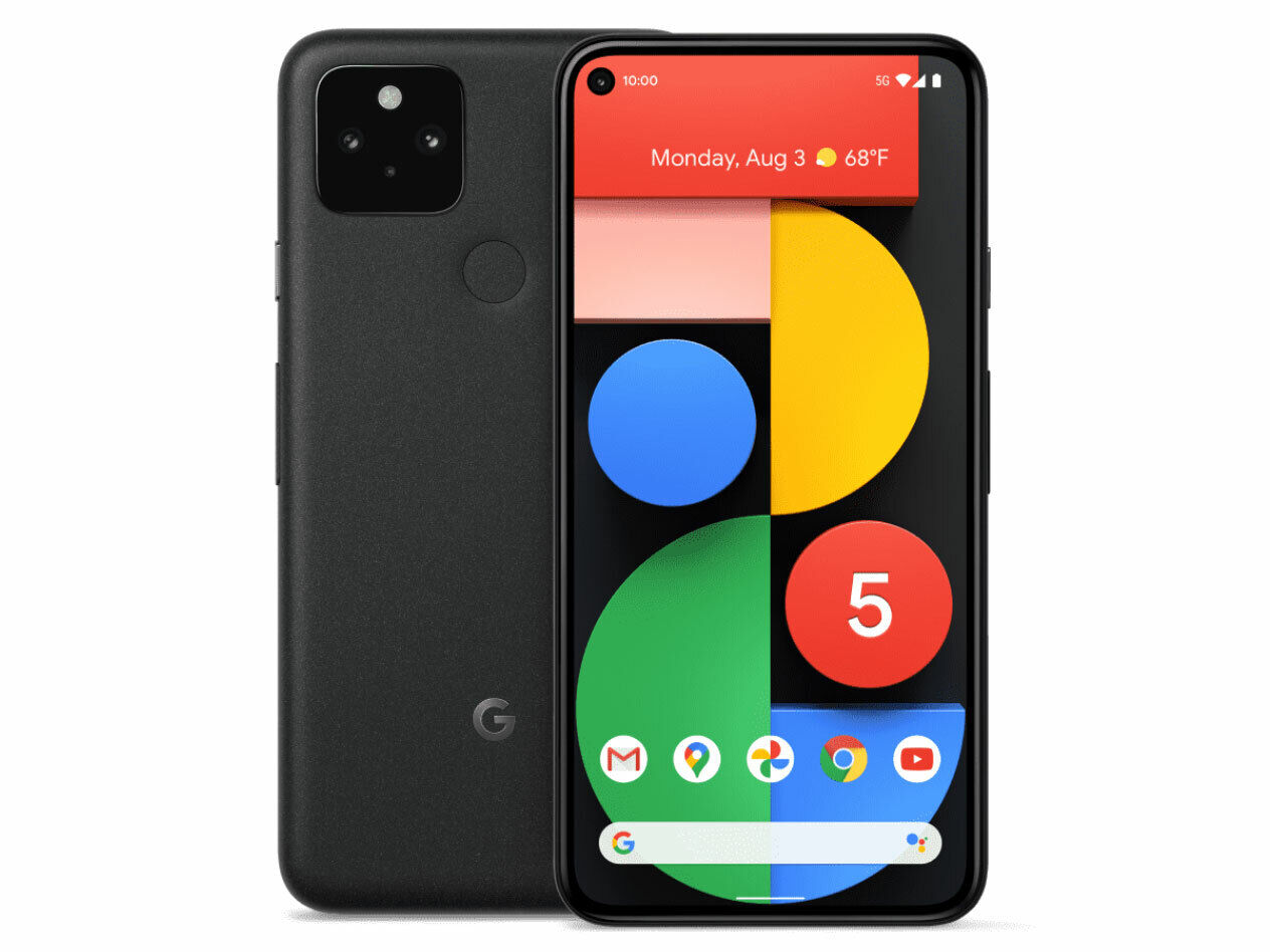 Android Phone - Google Pixel 5 Android Mobile Phone - Unlocked - 128GB Just Black - Brand New