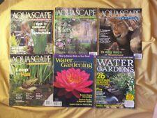 6 Magazine Aquascape Beginner Pond Water Garden Repair ...
