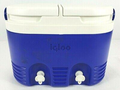 Igloo Cooler  Vintage 2 Beverage Tanks Plastic Rare Collector Made in U.S.A.